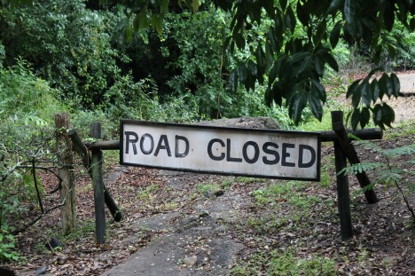 Fear roadblock